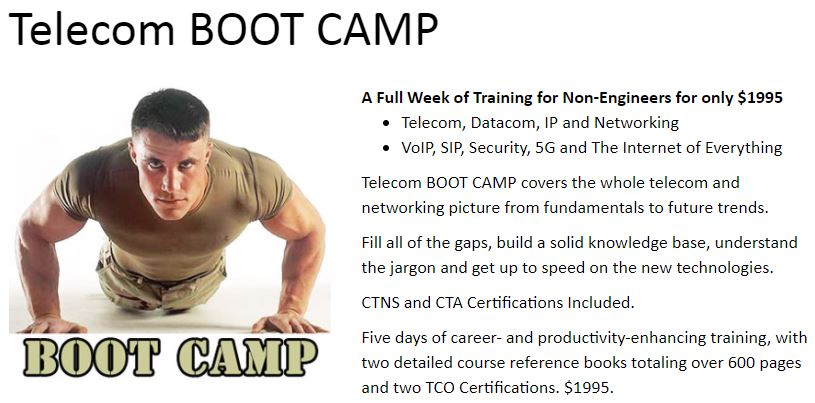 Telecom BOOT CAMP with 2 TCO Certifications
