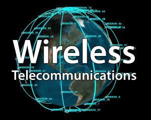 Wireless Telecommunications course logo