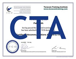 CTA certification package icon
